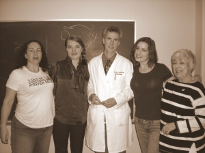 Dr. Lawton's Lucky Ladies!!! :-) Not just anyone can belong to this club :-)