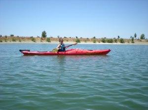 """Look Ma I'm kayaking!"" :-)"