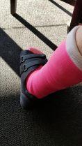 pink cast